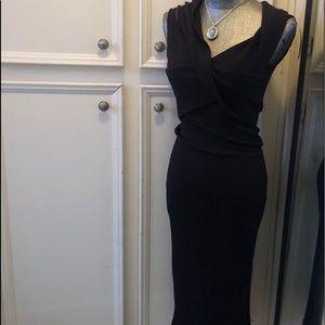 Crossover Off-the-Shoulder Dress